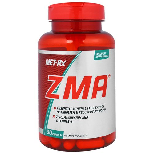 MET-Rx, ZMA, 90 Capsules Review