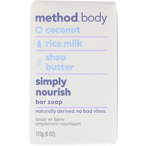 Method, Body, Simply Nourish, Bar Soap, 6 oz (170 g) Review