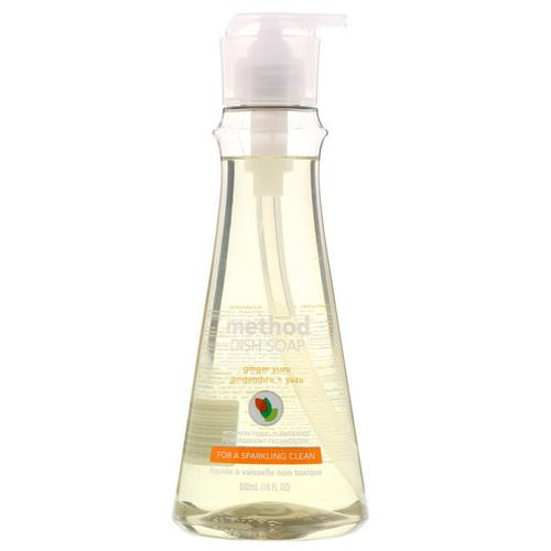 Method, Dish Soap, Ginger Yuzu, 18 fl oz (532 ml) Review