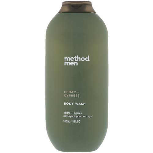 Method, Men, Body Wash, Cedar + Cypress, 18 fl oz (532 ml) Review