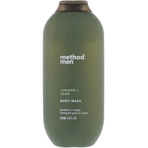 Method, Men, Body Wash, Juniper + Sage, 18 fl oz (532 ml) Review