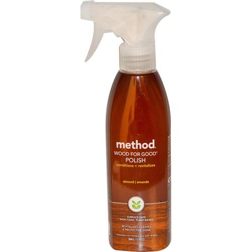 Method, Wood For Good Polish, Almond, 12 fl oz (354 ml) Review