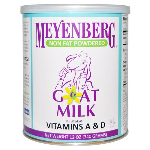 Meyenberg Goat Milk, Non Fat Powdered Goat Milk, 12 oz (340 g) Review
