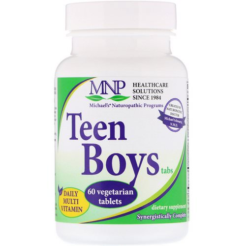 Michael's Naturopathic, Teen Boys Tabs, Daily Multi-Vitamin, 60 Vegetarian Tablets Review