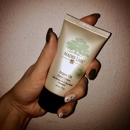 Argan Oil Hand Cream with Marula Oil & Coconut Oil plus Shea Butter, Soothing and Unscented