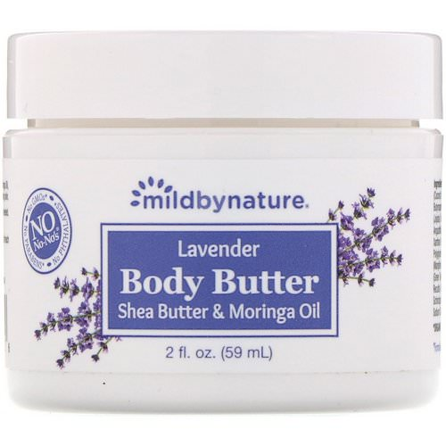Mild By Nature, Lavender Body Butter, 2 fl oz (59 ml) Review