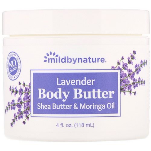 Mild By Nature, Lavender Body Butter, 4 fl oz (118 ml) Review