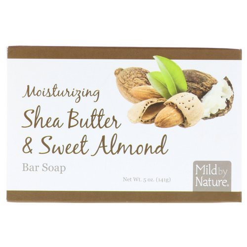 Mild By Nature, Moisturizing Bar Soap, Shea Butter & Sweet Almond, 5 oz (141 g) Review