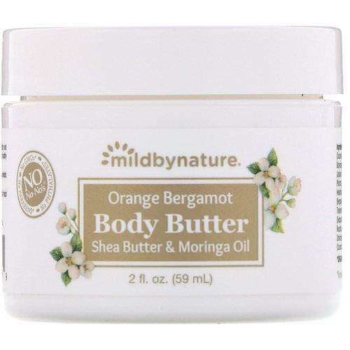 Mild By Nature, Orange Bergamot Body Butter, 2 fl oz (59 ml) Review