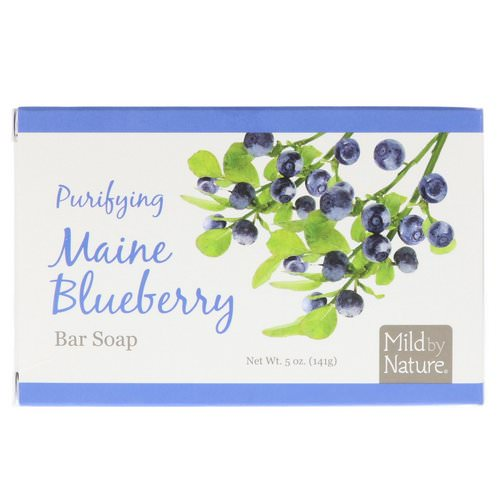 Mild By Nature, Purifying Bar Soap, Maine Blueberry, 5 oz (141 g) Review