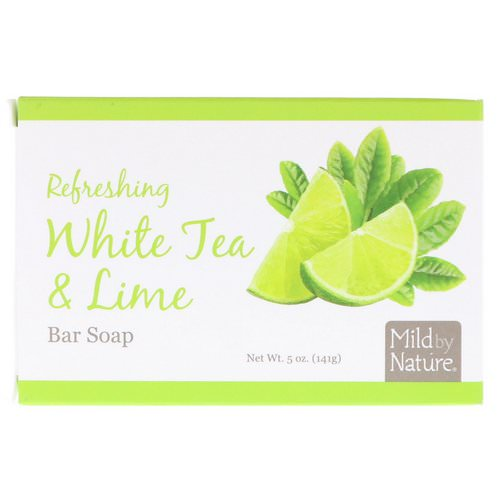 Mild By Nature, Refreshing Bar Soap, White Tea & Lime, 5 oz (141 g) Review