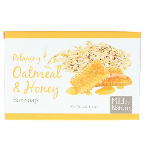 Mild By Nature, Relaxing Bar Soap, Oatmeal & Honey, 5 oz (141 g) Review