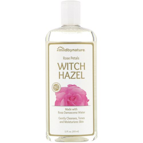Mild By Nature, Witch Hazel, Rose Petal, Alcohol-Free, 12 fl oz (355 ml) Review