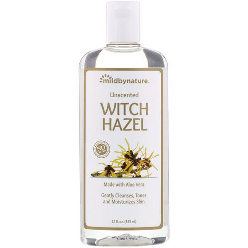 Mild By Nature, Witch Hazel, Unscented, Alcohol-Free, 12 fl oz (355 ml) Review