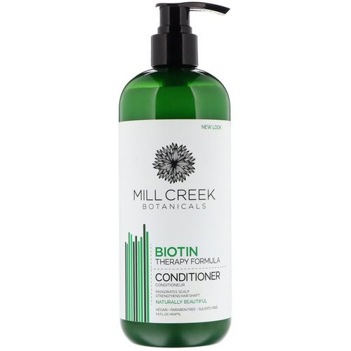 Mill Creek Botanicals, Biotin Conditioner, Therapy Formula, 14 fl oz (414 ml) Review