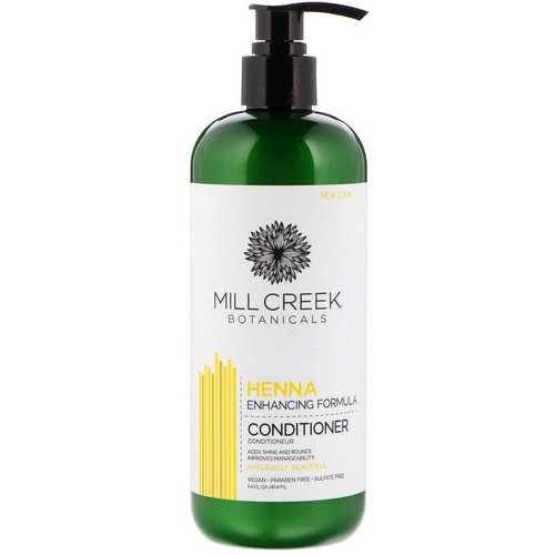 Mill Creek Botanicals, Henna Conditioner, Enhancing Formula, 14 fl oz (414 ml) Review