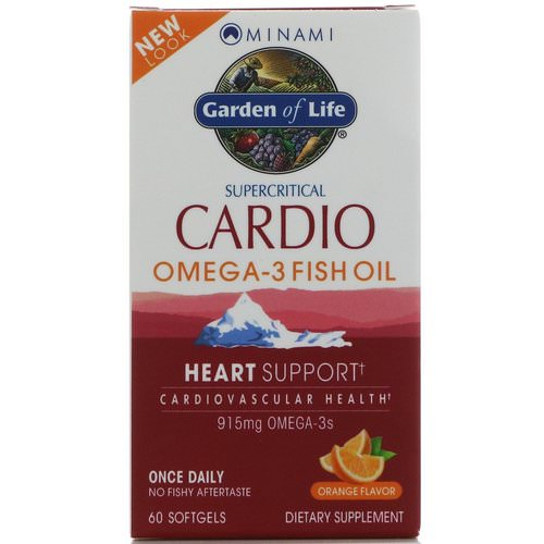 Minami Nutrition, Cardio Omega-3 Fish Oil, Orange Flavor, 60 Softgels Review