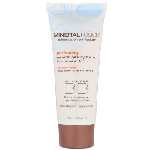 Mineral Fusion, Mineral Beauty Balm, SPF 9, Perfecting, 2.0 oz (60 ml) Review