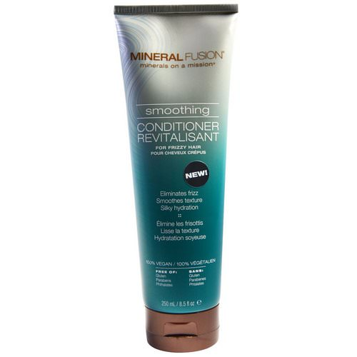 Mineral Fusion, Smoothing Conditioner, For Frizzy Hair, 8.5 fl oz (250 ml) Review