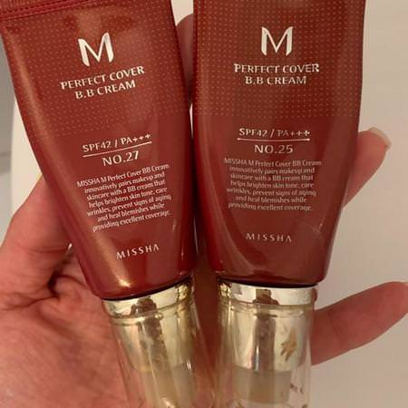 Missha, Perfect Cover B.B. Cream, SPF 42 PA+++, No. 27 Honey Beige, 50 ml Review