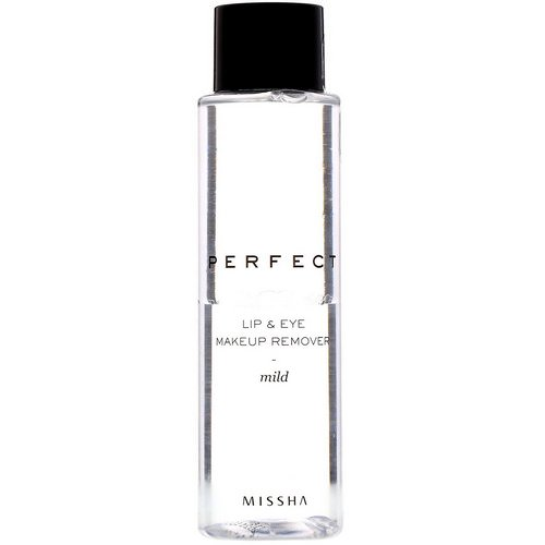 Missha, Perfect Lip & Eye Makeup Remover, Mild, 155 ml Review