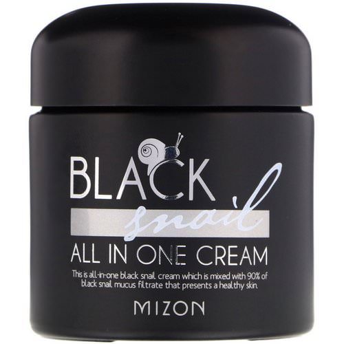 Mizon, Black Snail, All In One Cream, 2.53 fl oz (75 ml) Review