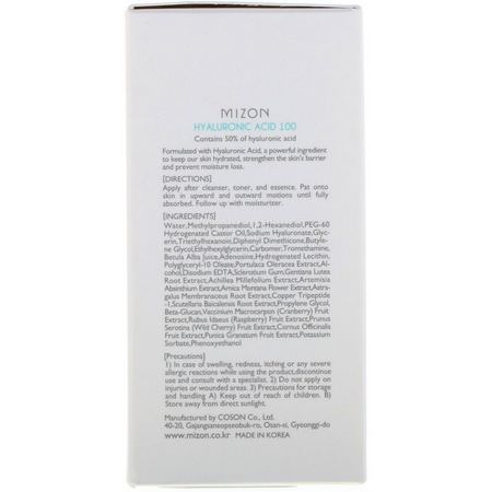 Mizon, K-Beauty Treatments, Serums, Hydrating