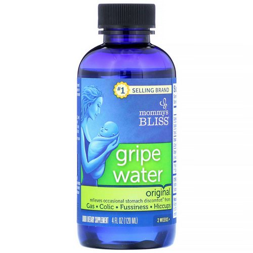 Mommy's Bliss, Gripe Water, Original, 4 fl oz (120 ml) Review