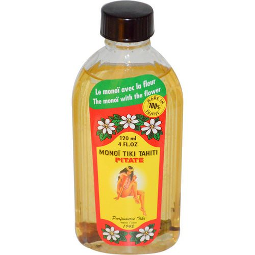 Monoi Tiare Tahiti, Coconut Oil, Pitate (Jasmine), 4 fl oz (120 ml) Review