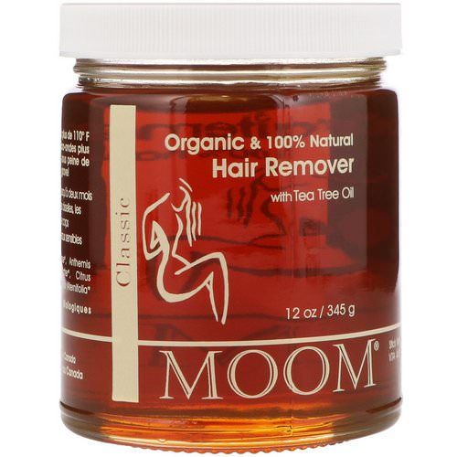 Moom, Hair Remover, with Tea Tree Oil, Classic, 12 oz (345 g) Review