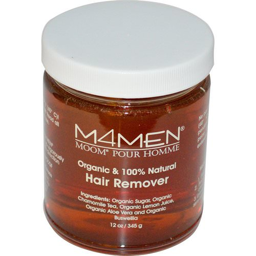 Moom, M4Men, Hair Remover, for Men, 12 oz (345 g) Review