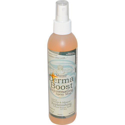 Morningstar Minerals, Derma Boost, Rejuvenating Spray Mist, 8 fl oz Review