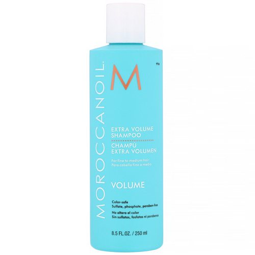 Moroccanoil, Extra Volume Shampoo, 8.5 fl oz (250 ml) Review