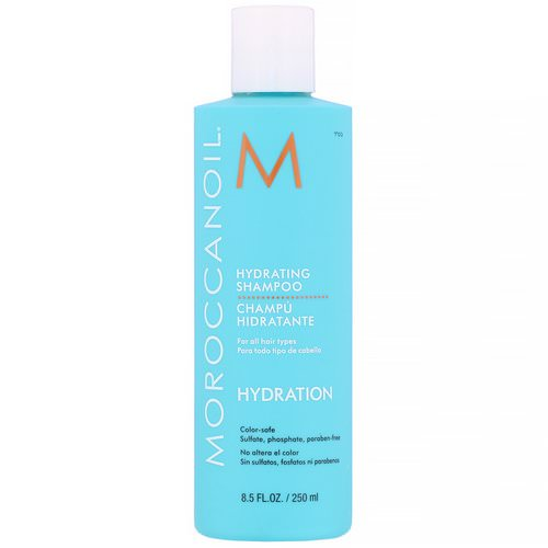 Moroccanoil, Hydrating Shampoo, Hydration, 8.5 fl oz (250 ml) Review