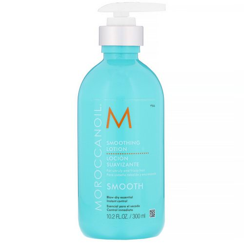Moroccanoil, Smoothing Lotion, Smooth, 10.2 fl oz (300 ml) Review