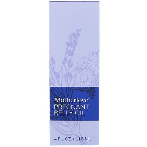 Motherlove, Pregnant Belly Oil, 4 fl oz (118 ml) Review