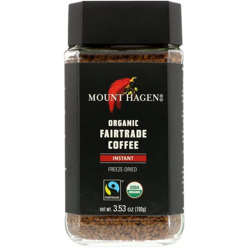 Mount Hagen, Organic Fairtrade Coffee, Instant, 3.53 oz (100 g) Review