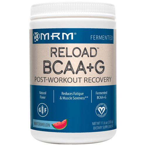 MRM, BCAA+ G Reload, Post-Workout Recovery, Watermelon, 11.6 oz (330 g) Review