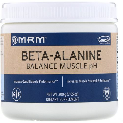 MRM, Beta-Alanine, Balance Muscle pH, 7.05 oz (200 g) Review