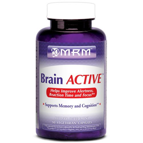 MRM, Brain Active, 90 Vegan Capsules Review