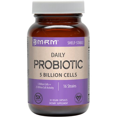 MRM, Daily Probiotic, 30 Vegan Capsules Review