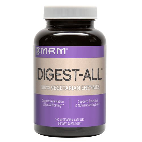MRM, Digest-All, 100 Vegetarian Capsules Review