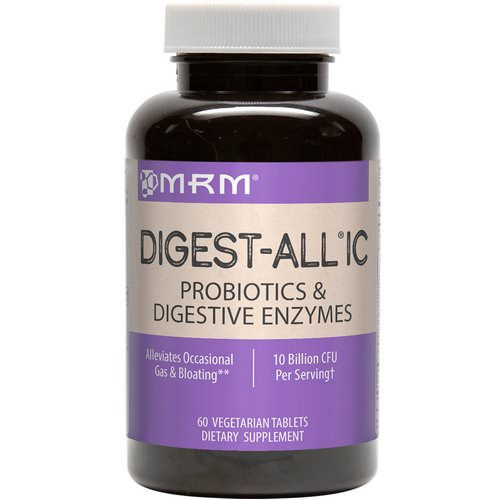 MRM, Digest-All IC, 60 Vegetarian Tablets Review