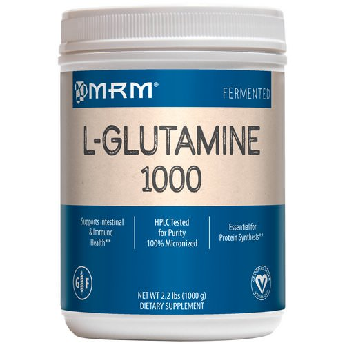 MRM, L-Glutamine 1000, 2.2 lbs (1000 g) Review