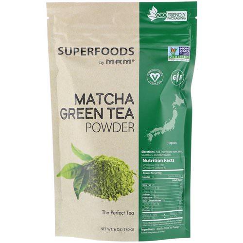 Mrm Matcha Tea Green Powder