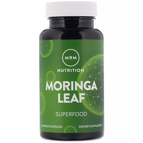 MRM, Moringa Leaf, 60 Vegan Capsules Review