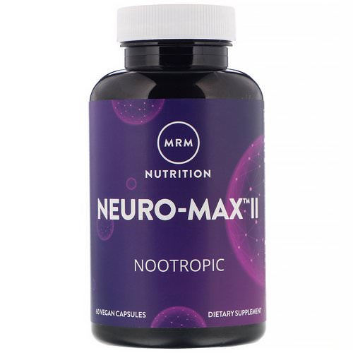 MRM, Neuro-Max II, 60 Vegan Capsules Review