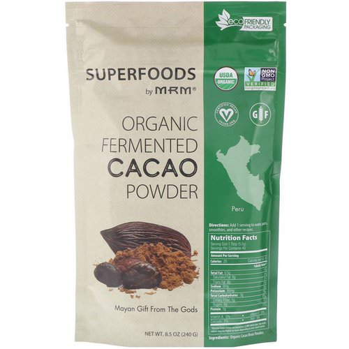 MRM, Organic Fermented Cacao Powder, 8.5 oz (240 g) Review