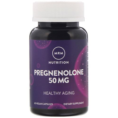 MRM, Nutrition, Pregnenolone, 50 mg, 60 Vegan Capsules Review
