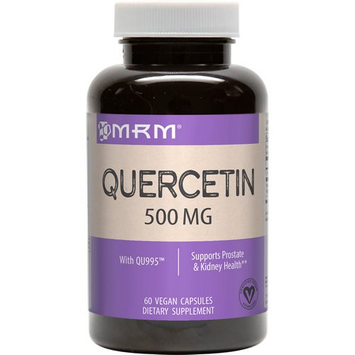 MRM, Quercetin, 500 mg, 60 Vegan Capsules Review